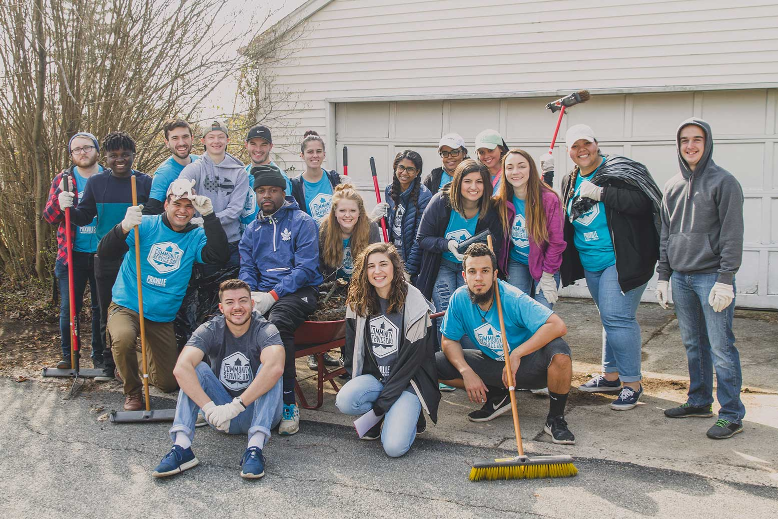 Group Photo of Community Service Day