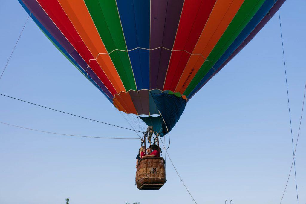Hot Air Ballon at UVF Campus