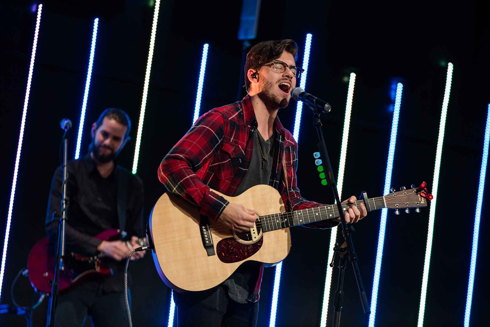 Student Leading worship