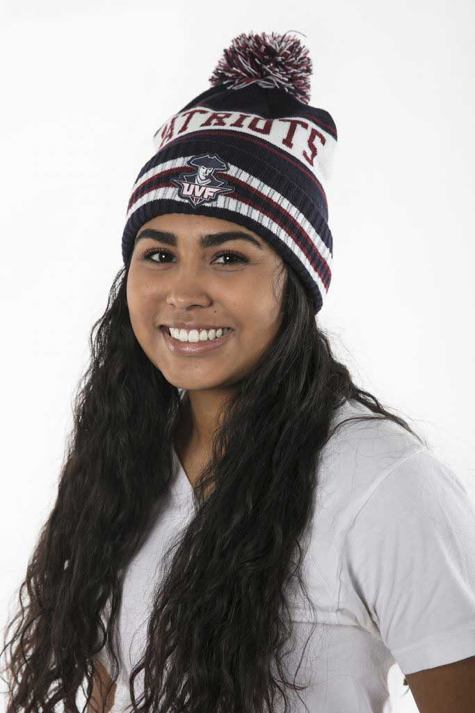 UVF Student in Beanie from Patriot Store