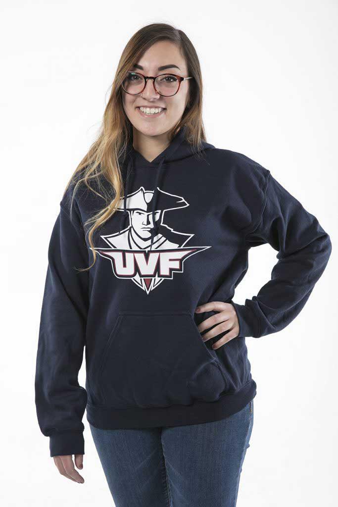 UVF Student in Sweatshirt