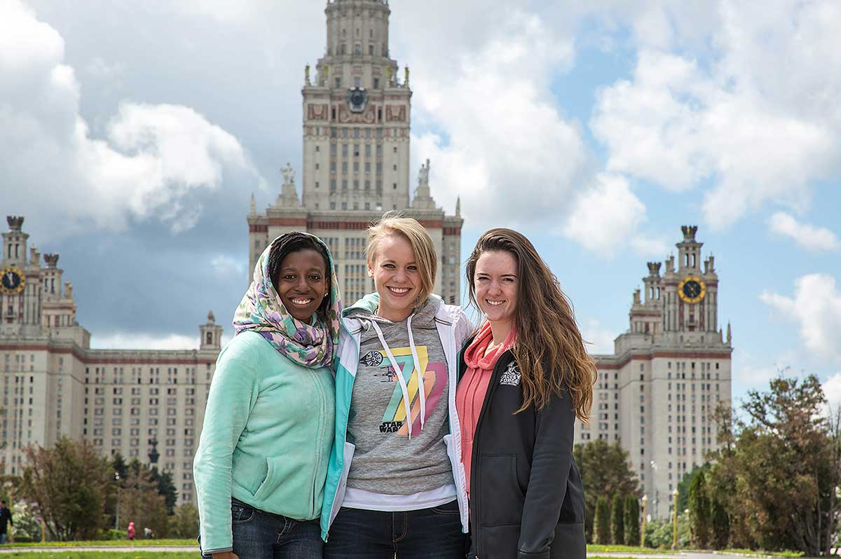 UVF Students in Russia