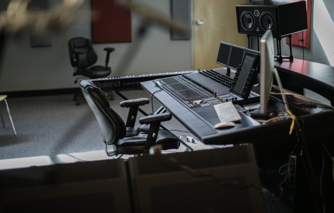 Recording Studio's DAW setup