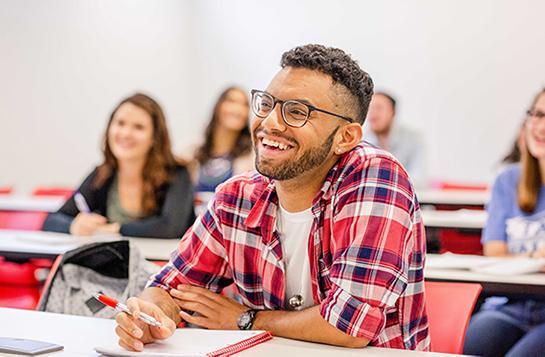 UVF Undergraduate Students Smiling