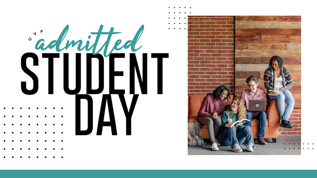 Admitted Students Day graphic for June 14 and July 12