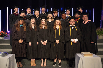 Digital Media Graduates and Digital Media Professors